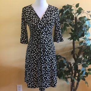 Loft Faux Wrap Dress Size 2
